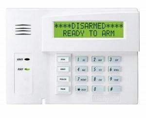 alarm keypad